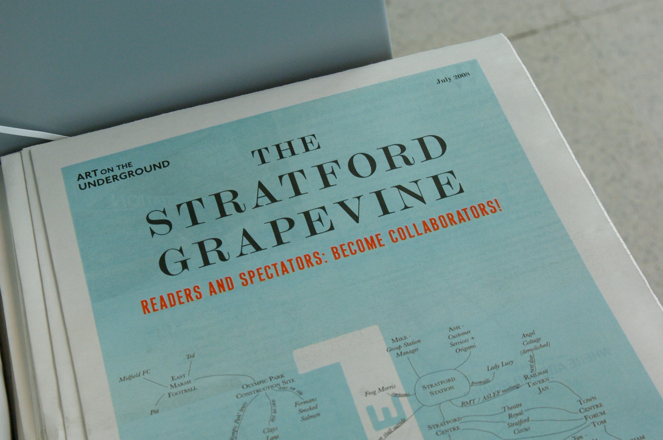 Art on the Underground: The Stratford Grapevine