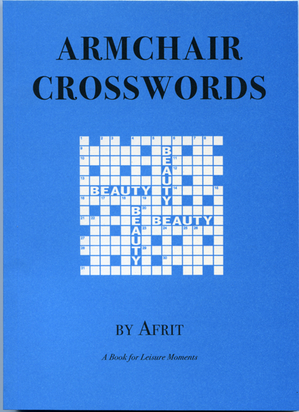 Armchair Crosswords