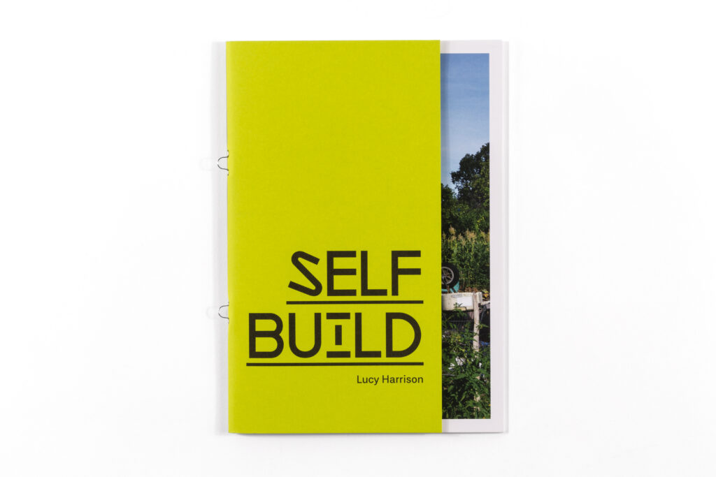 yellow book cover entitled 'self-build'